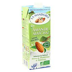 Lait D'Amande Matcha 1L Bio
