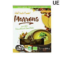 Marrons cuits 200G Bio