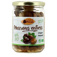 Marrons entiers de France 320g Bio