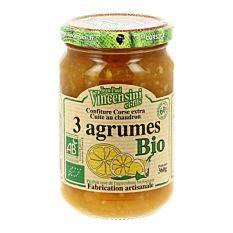Confiture 3 Agrumes 360G Bio