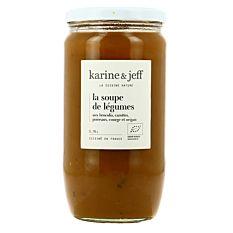 Soupe de légumes du potager 78cl Bio