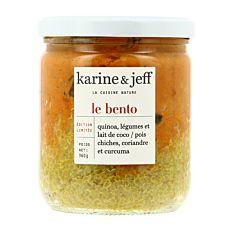 Bento de Quinoa Légumes et lait de Coco 360g Bio
