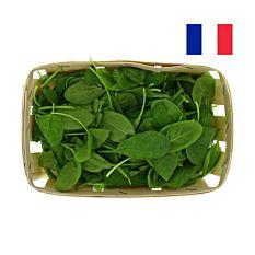 Salade jeunes pousses d'épinard barquette 125G Bio
