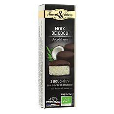 Bouchees Coco Noir 45G Bio