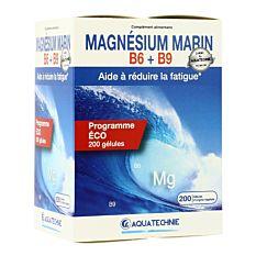 Magnésium Marin B6+B9 - 200 gélules