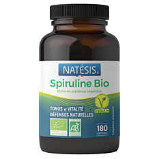 Spiruline 500mg - 180 comprimés Bio