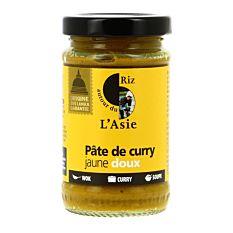 Pâte de curry thaï jaune 100G Bio