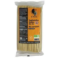 Tagliatelles thaïes de riz complet sans gluten 400G Bio