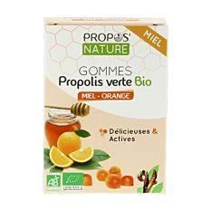 Gomme Propolis Miel Orange Bio
