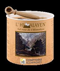 Boîte de Sel Rose de l'Himalaya 250g Bio
