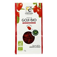 Baies de Goji sachet 125g Bio
