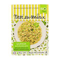 Quinoa Legumes Verts 270G Bio