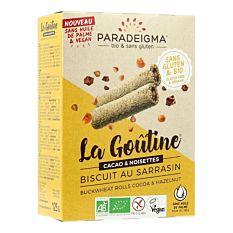 Goûtine au sarrasin cacao & noisettes 125G