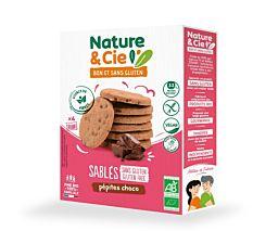 Biscuits aux pépites de chocolat sans gluten 125G Bio