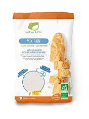 Préparation Mix pain sans gluten 500G Bio