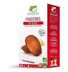 Madeleines pur beurre sans gluten 150G Bio