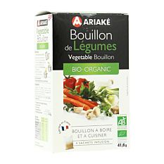 Bouillon de Légumes Sachets 4x10g Bio