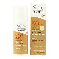 Crème solaire visage claire SPF30 50ml Bio