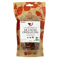 Cacao Cru Feves 250G Bio