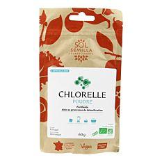 Chlorelle en poudre 60g Bio
