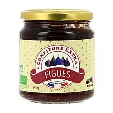 Confiture extra figues 340g Bio