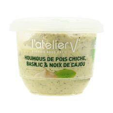 Houmous de Basilic & Noix de Cajou 150g Bio