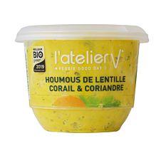 Houmous de lentilles corail & coriandre 150G Bio