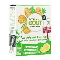 Biscuits animaux citron dès 10mois 80g Bio