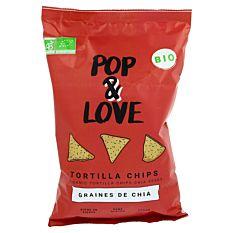 Chips Tortilla aux graines de Chia 135g Bio