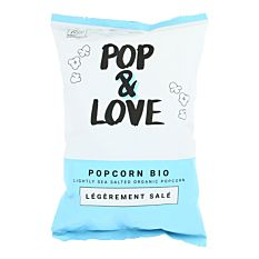 Popcorn Salé 80g Bio