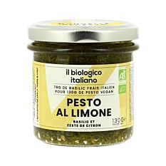Pesto au citron 130g Bio