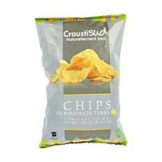 Chips de pomme de terre au sel de Guérande 100G Bio