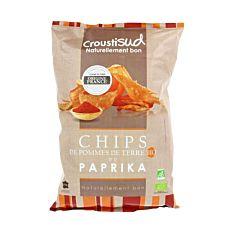 Chips de Pomme de Terre au Paprika 100g Bio