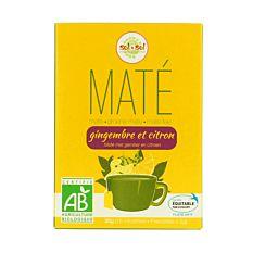 Mate Gingembre Citron 15Inf