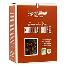 Granola Chocolat noir & pépites 350G Bio