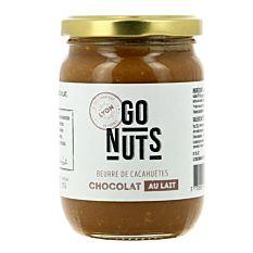 Beurre de cacahuètes chocolat lait 270g Bio