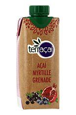 Jus d'Açaï Myrtille & Grenade 33cl Bio