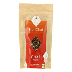 Thé noir Chaï épicé 80G Bio
