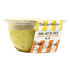 Dahl de Lentilles Légumes et Curry 270g Bio