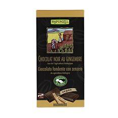 Chocolat Noir Gingembre 80G Bio