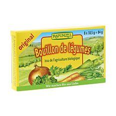 Bouillon Legumes Cubes 84G Bio