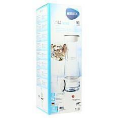 Bouteille Filtrante Fill & Serve Brita 1,3L Grise