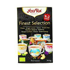 Yogi Tea Finest Selection 9x2 sachets Bio