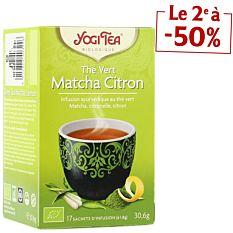 Thé Vert Matcha Citron - 17 Sachets