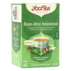 Infusion bien-être intestinal 17 infusions Bio