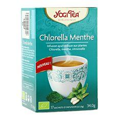 Infusion chlorella menthe 17 infusions Bio
