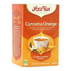 Infusion curcuma orange 17infusions Bio