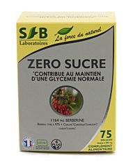 Zéro sucre Berberine - 75 gélules