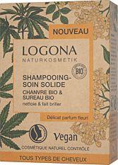 Shampoing-Soin solide au Chanvre & Sureau 60g Bio