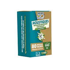 Recharge de prise électrique Anti-Moustiques Concentré et Plaquettes Bio